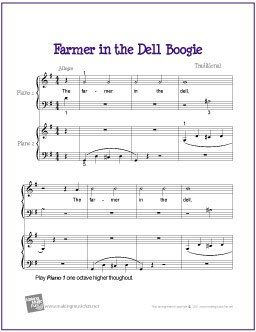 Free Beginner Piano Duet Sheet Music With Images Violin Sheet