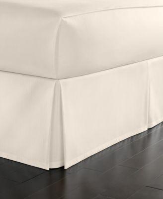 Queen Cotton Pique Bedskirt