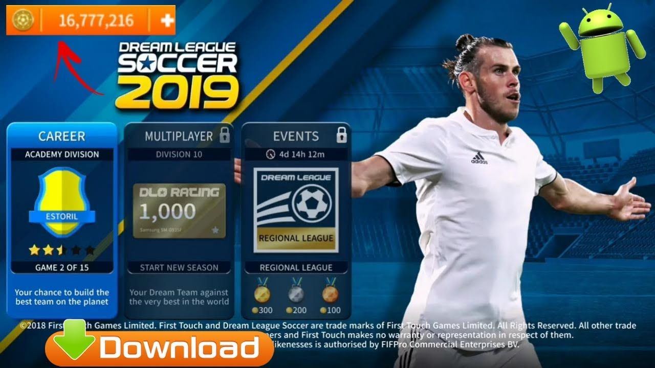 New DLS19 APK Mod Android Game Downloa d Game download