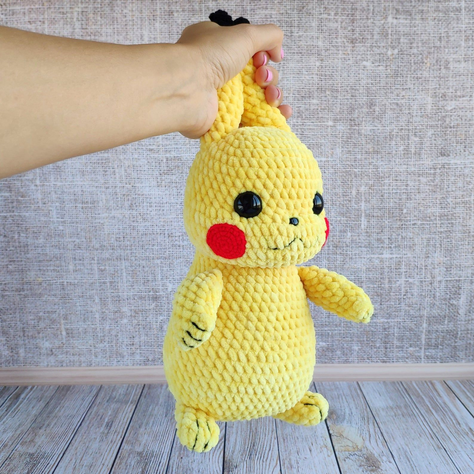 Pikachu detective toy pokemon new movie Pikachu amigurumi Pikachu detetive amigurumi pokemon amigurumi pokemon detective