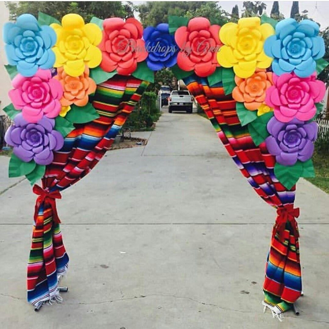 Pin de rico ruiz en fiesta mexicana pinterest fiesta for Mexikanische dekoration