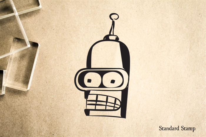 Bender Rubber Stamp