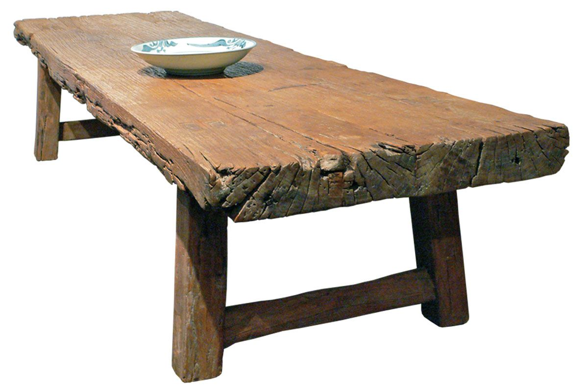 Rustic Wooden Coffee Table | Loegz
