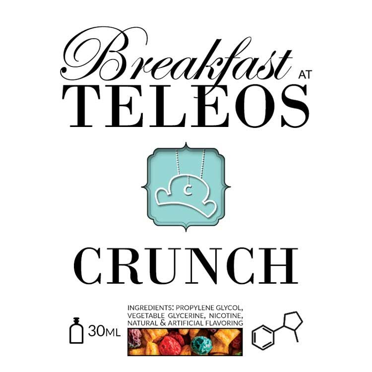 breakfast at teleos crunch recipe les recettes diy. Black Bedroom Furniture Sets. Home Design Ideas