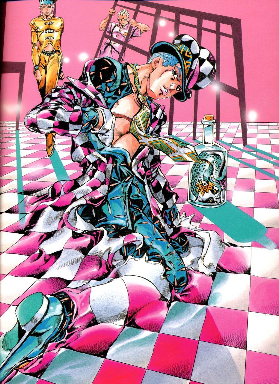 ジョジョの奇妙な冒険 ピンク
