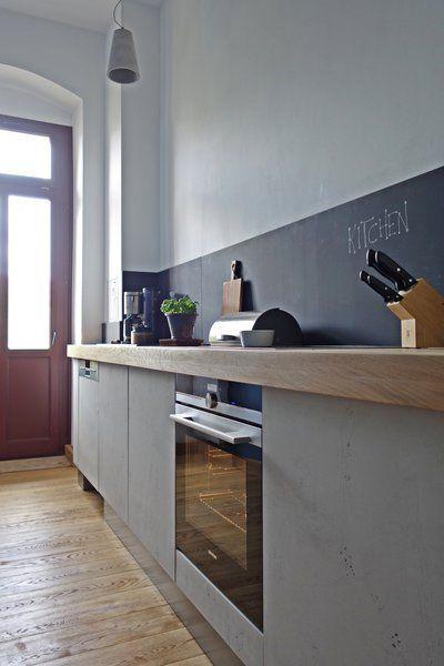 küche aus beton
