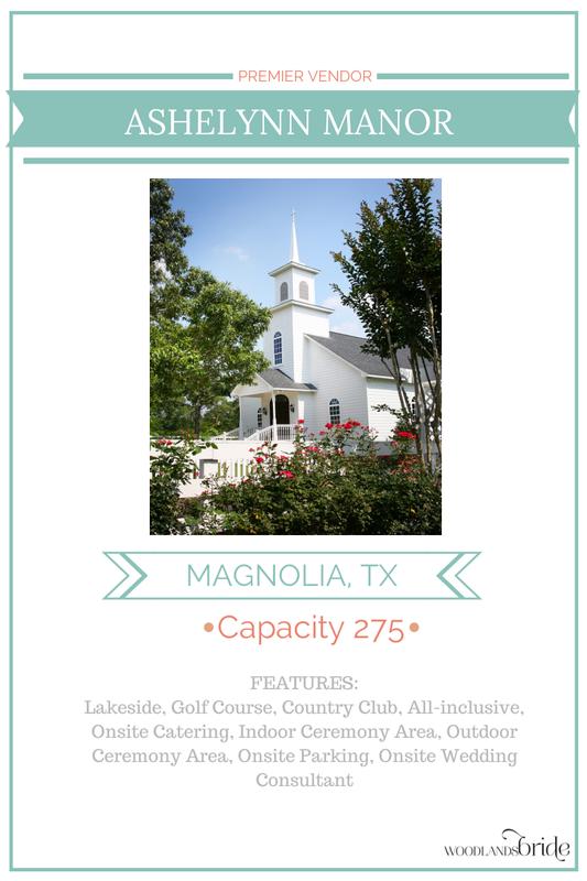 Ashelynn Manor - North Houston Wedding Venue Guide // WoodlandsBride.com