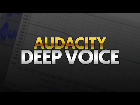 How To Change Voice To Deep Voice In Audacity Google Search The Voice Your Voice Deep