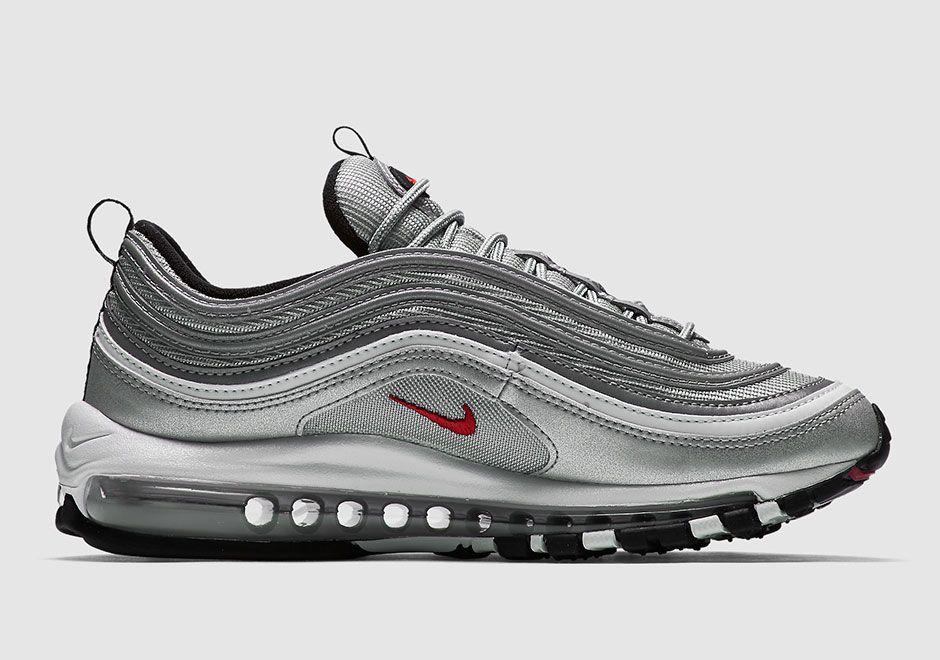 super popular 855ac a1bff Nike Air Max 97 OG QS 884421-001 Silver | SneakerNews.com