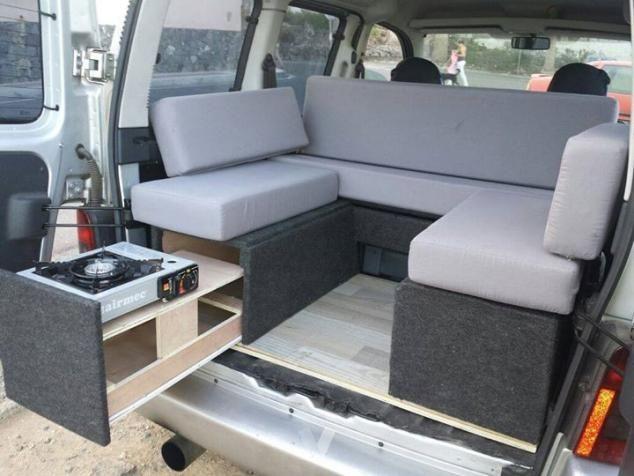 Kitcamper Google Search Berlingo Camper Camper Van Conversion Diy Minivan Camper Conversion