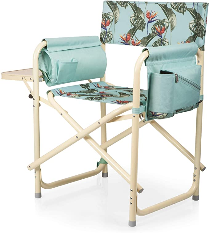 63a6edf3e51d53291a4ecff935e0b549 - Picnic Time Gardener Folding Chair With Tools