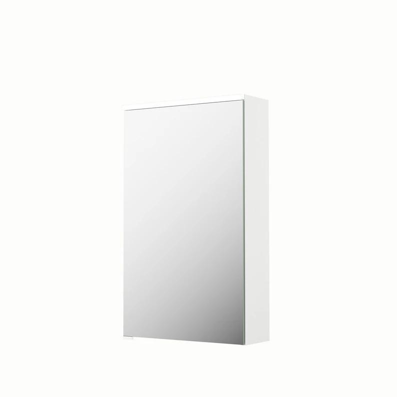 Armoire De Toilette Lumineuse L 45 Cm Blanc Sensea Neo Leroy Merlin Armoire De Toilette Armoire Toilettes
