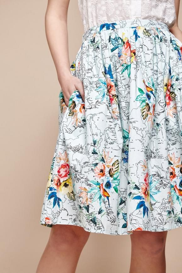 30f0d56cbba9 Yumi Outlet Yumi Rok - Tropical Map Shop Online: www.the-outletstore.net