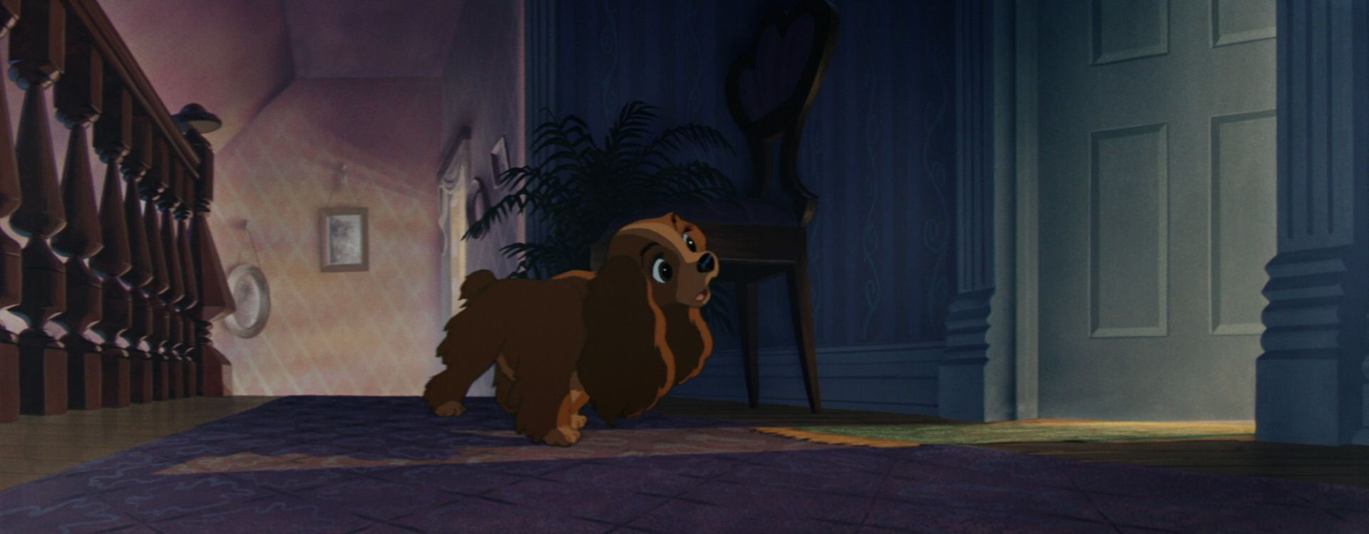 Lady And The Tramp 1955 Disney Screencaps Lady And The Tramp Old Disney Disney Ladies