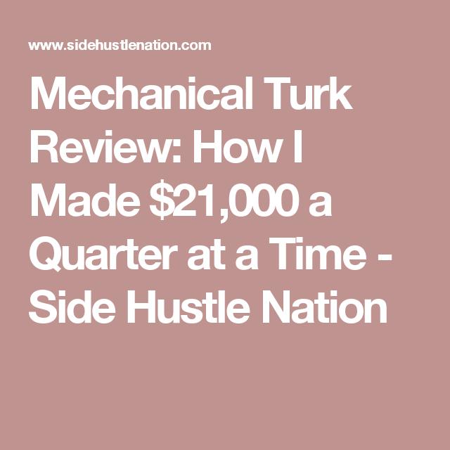 Passive Income Streams Reddit Amazon Mechanical Turk Money