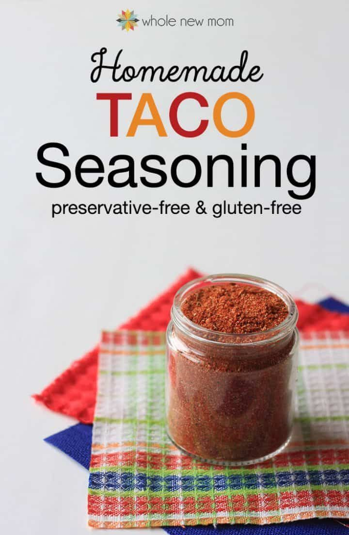 Homemade Taco Seasoning #diytacoseasoning