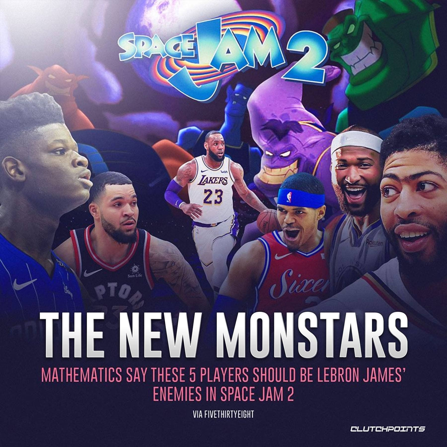 Pin By Charlotte Johnson On L A Lakers Space Jam Villain Instagram