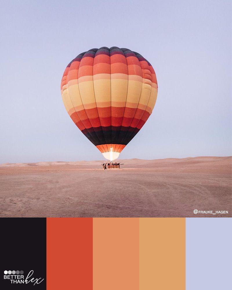 Air Color Palette : color, palette, Balloon, Color, Palette, Palette,, Orange