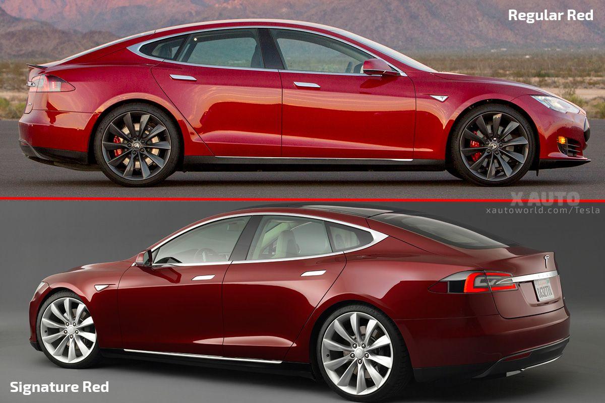 Tesla Model 3 Latest Footages Signature Red Red White Showing Wooden Trim On Dash Tesla Tesla Model Tesla Model X