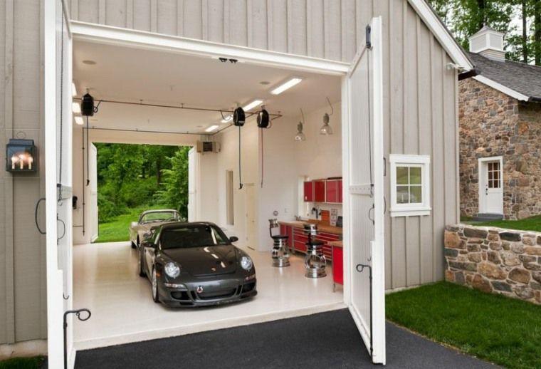 Aménagement garage - suggestions de rangement astucieux - idee de rangement garage