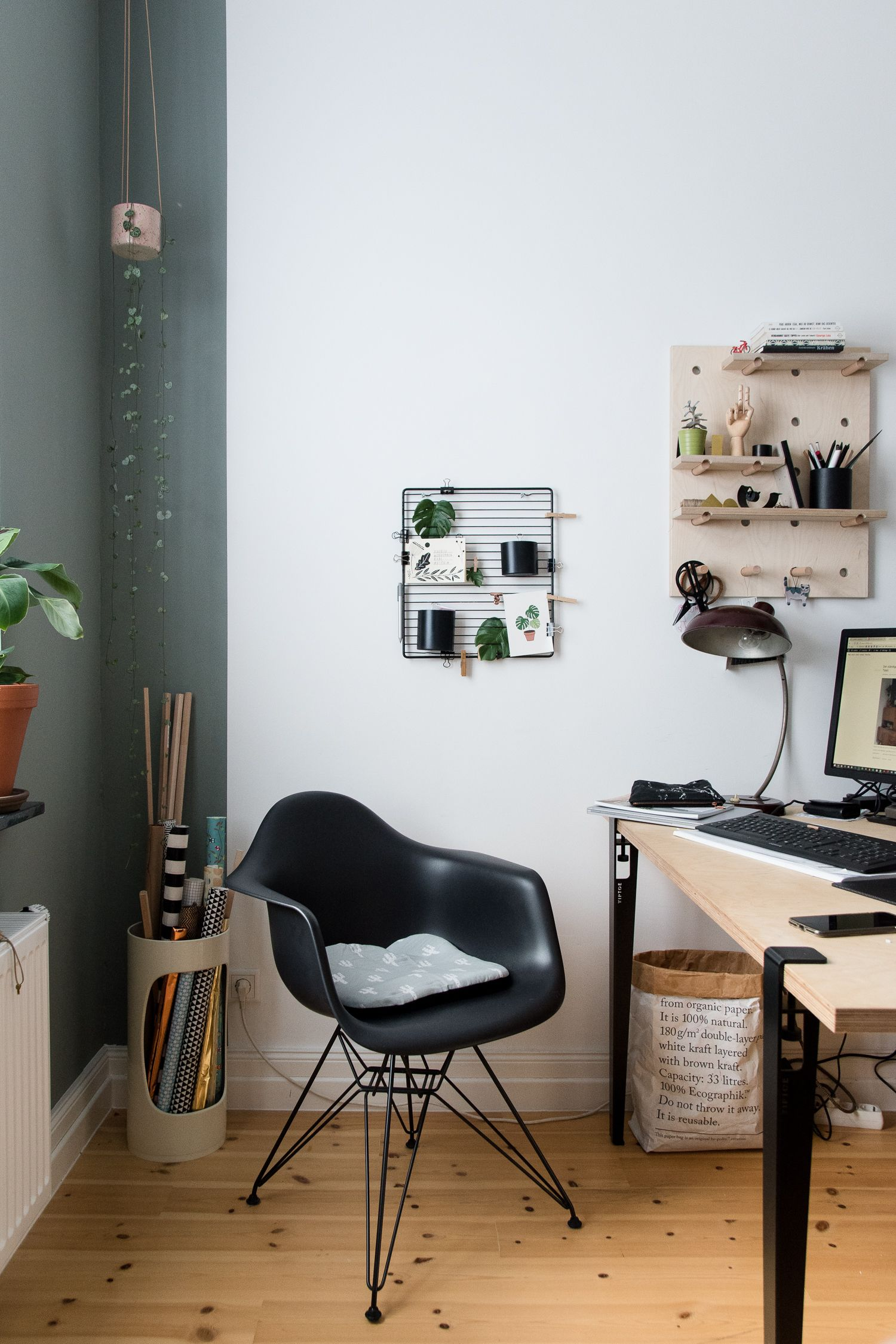 Einrichtungsideen Fur Ein Wohnliches Arbeitszimmer