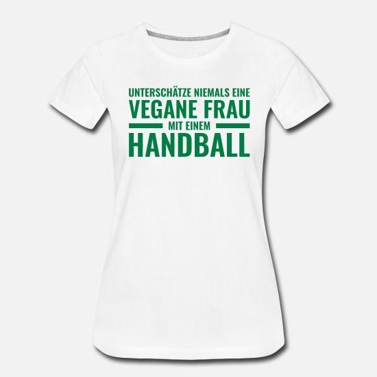 Handballerin - Vegan - Handball - Frau - Gesund Frauen