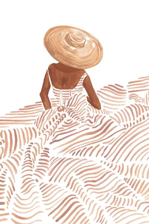 Madame Fleur - Canvas Print