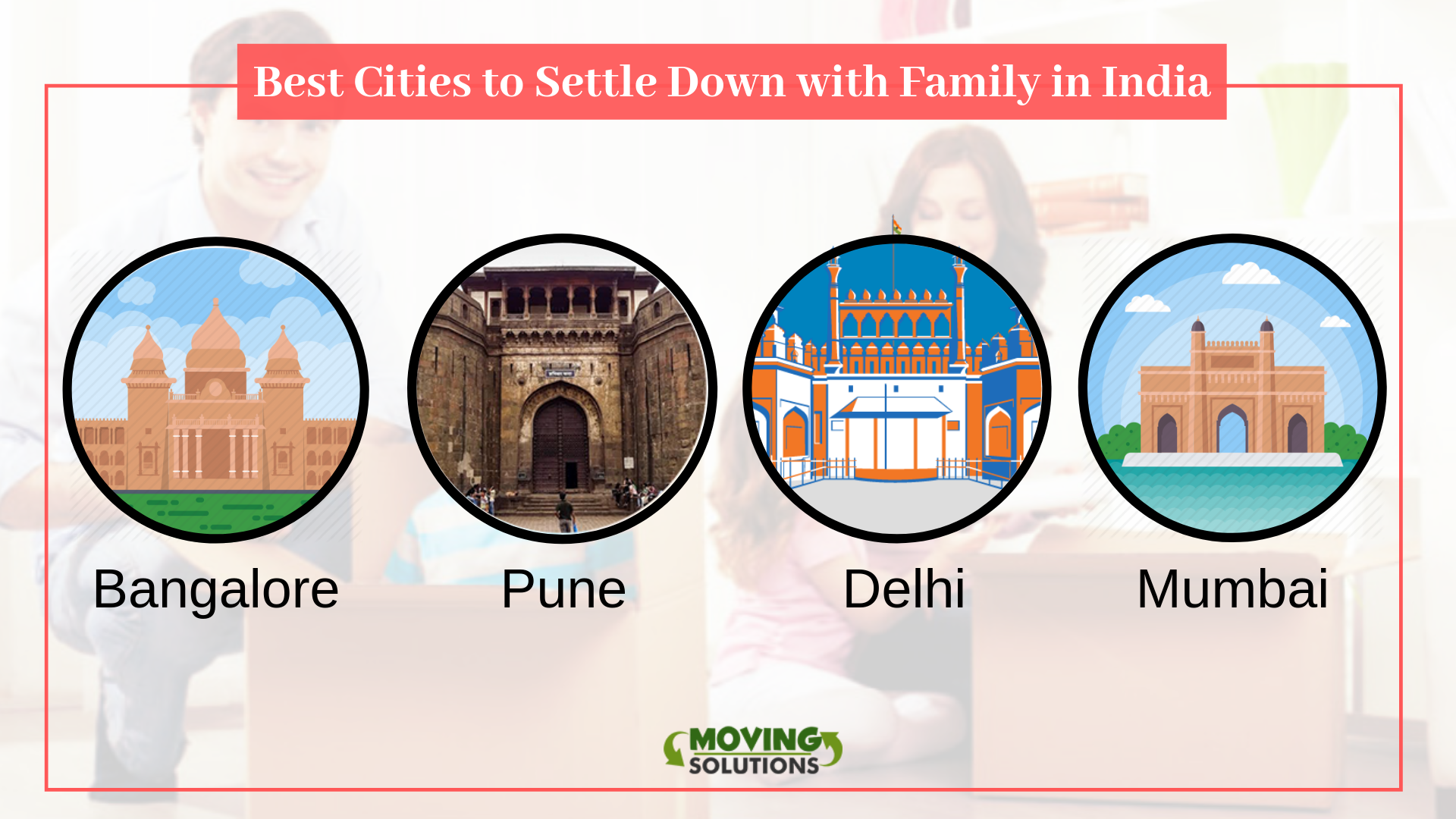 Best Cities to Settle Down with Family in India | Moving solutions
