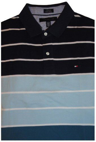 Men's Tommy Hilfiger Short Sleeve Shirt Blue Striped Multicolor Size XL Tommy Hilfiger, http://www.amazon.com/dp/B009W9DKZ2/ref=cm_sw_r_pi_dp_LOu-qb1MS9KVF