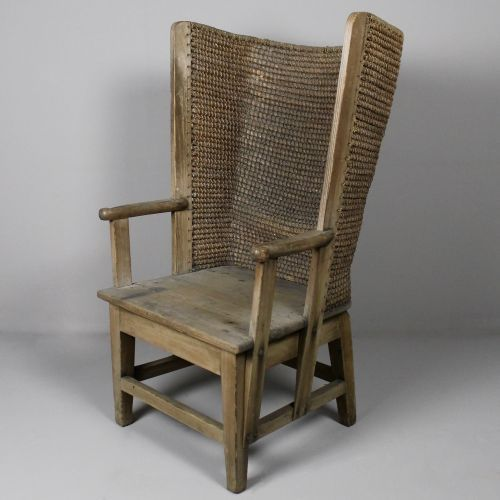 late-19th-century-orkney-chair-arabesque-antiques - Late-19th-century-orkney-chair-arabesque-antiques Old Wooden