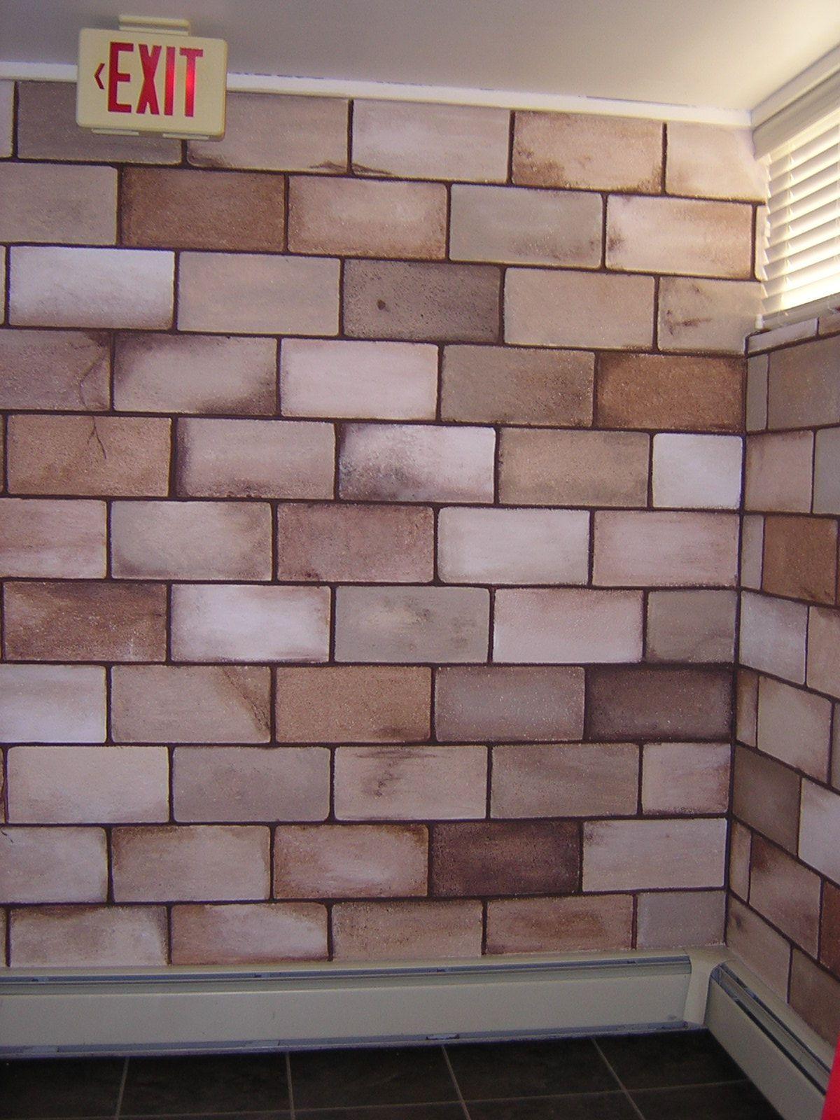 Found On Bing From Www Pinterest Com Cinder Block Walls Concrete Block Walls Painting Basement Walls