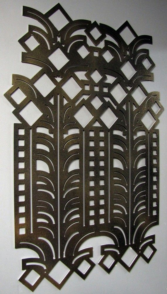 Art Deco Decorative Wall Art 23 X 35 available in 25 by studio724 ...