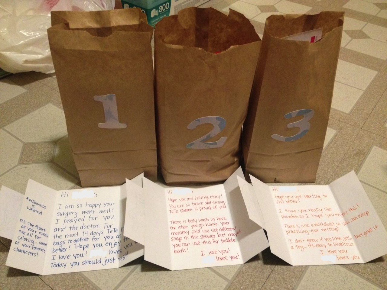 Recovery Gift Bags For A Child S Tonsillectomy Tonsil Surgery