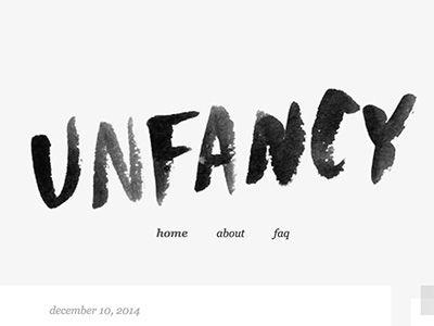 Logo I did for a friend's minimalist style blog.