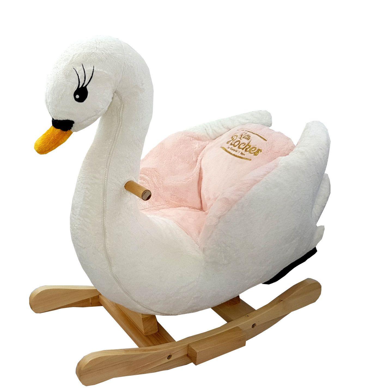 Amazing Swan Rocker Swans Swan Child Safety Plush Ncnpc Chair Design For Home Ncnpcorg
