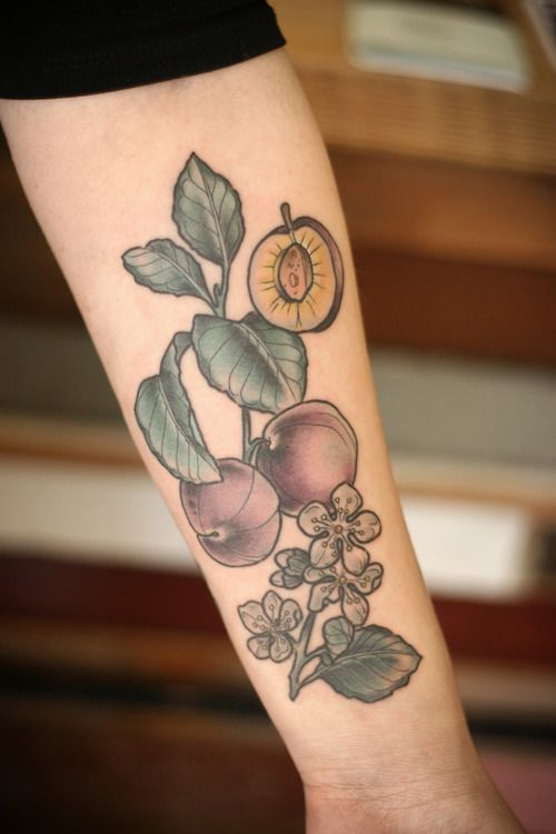 Beautiful Botanical Tattoos By Salem Witch Descendant: Link Through To This Tumblr Has Lots Of Beautiful