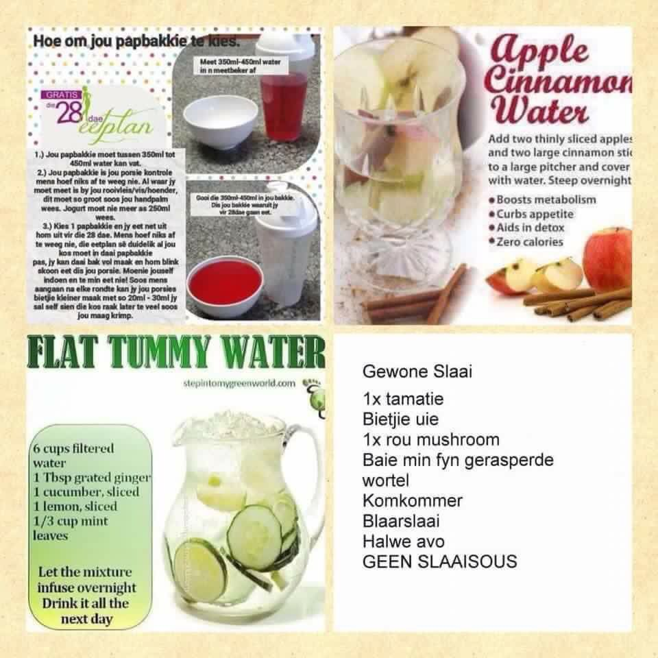 water diet for stomach fat