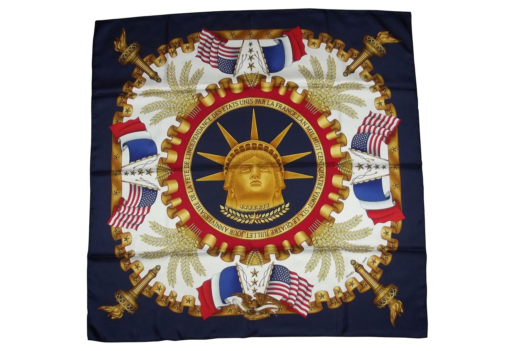 Hermès Statue of Liberty Scarf | The Good Life | One Kings Lane