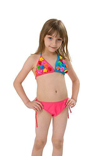 dc5f684da39 OTOO Girls Swimsuit for Kids,Baby 2 Pieces Bikini Bathing... http: