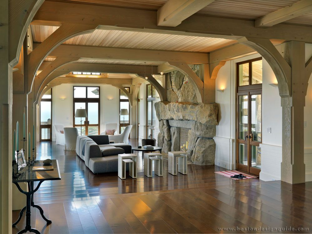 Meyer & Meyer Architecture & Interiors  Fine Architecture And Pleasing Living Room Boston Design Decorating Inspiration
