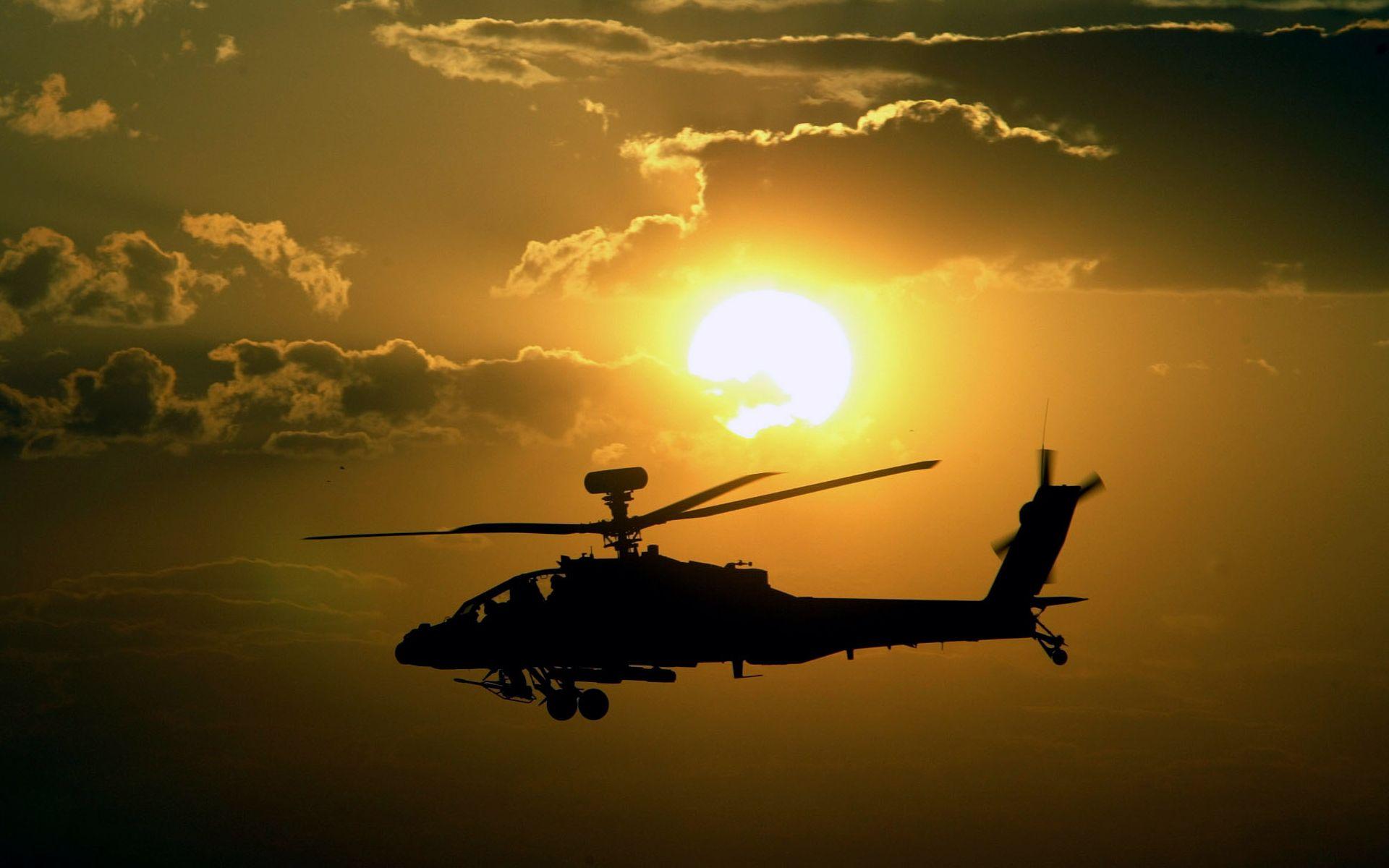 Autos Camiones Fondos De Pantalla Gratis: Helicóptero AH 64 Apache Hd 1920x1200