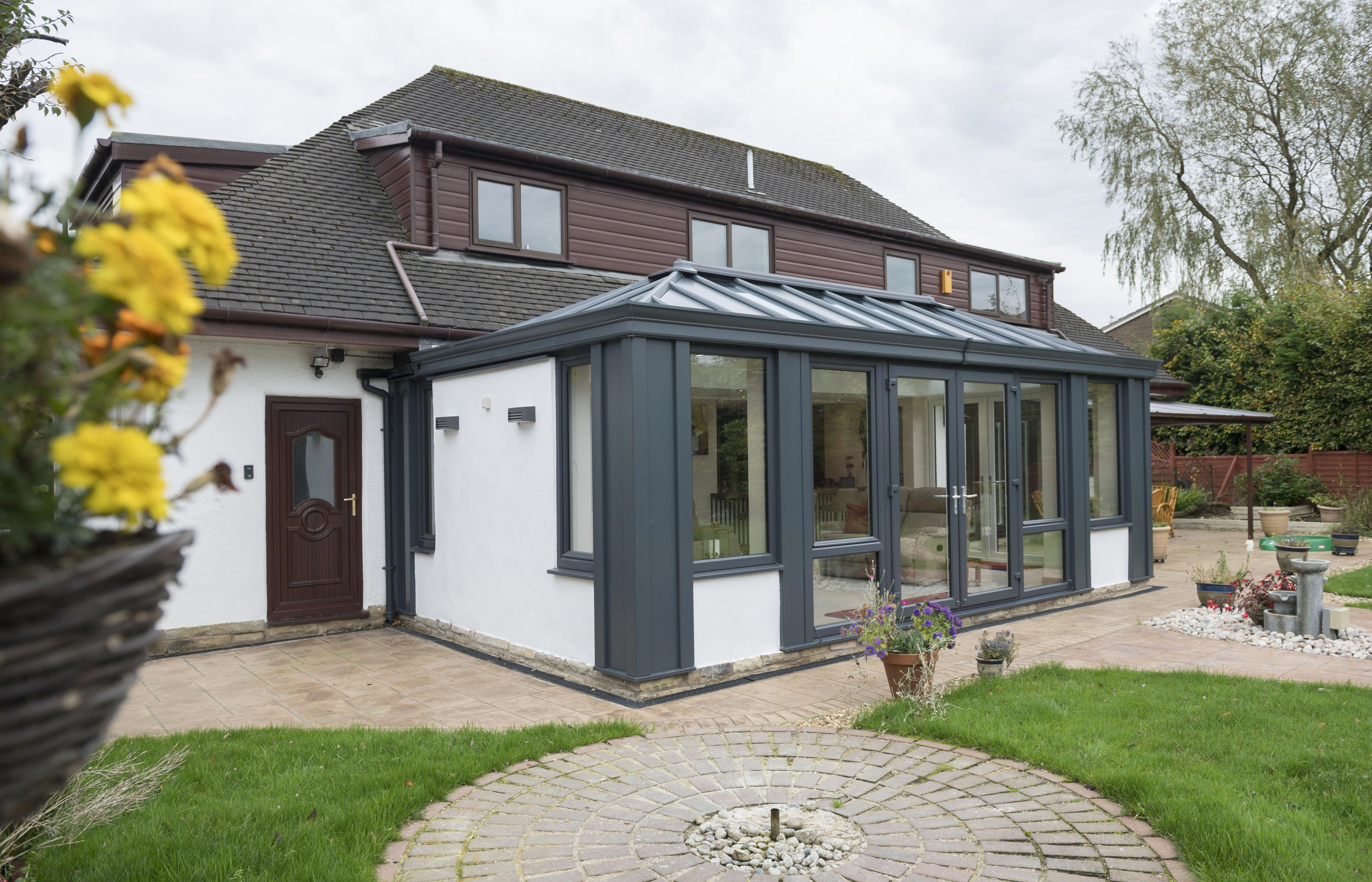 Its Time To Replace That Scrappy Outdated Roof Are You Wondering How Much It Will Cost To Install A Extra House Extensions Prefab Extensions Conservatory Roof
