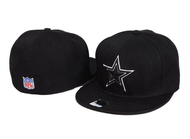 bb1e39ebd8a NFL Dallas Cowboys Fitted Hats Black PHID2307