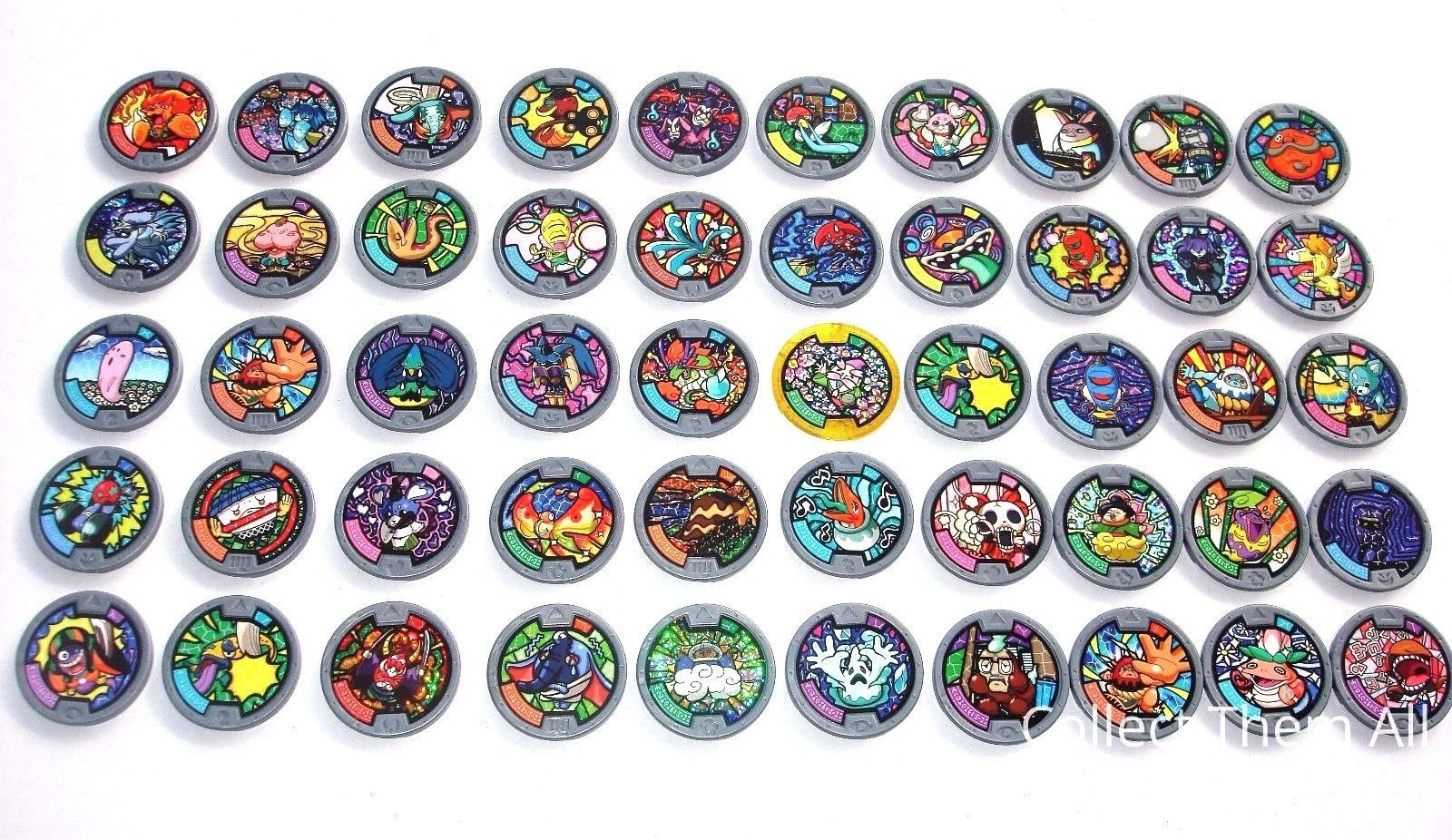 Yo Kai Yokai Medals Series 2 Choose Medal From Blind Bags For Yo Kai Watch Blind Bags Kai The Wolf Among Us
