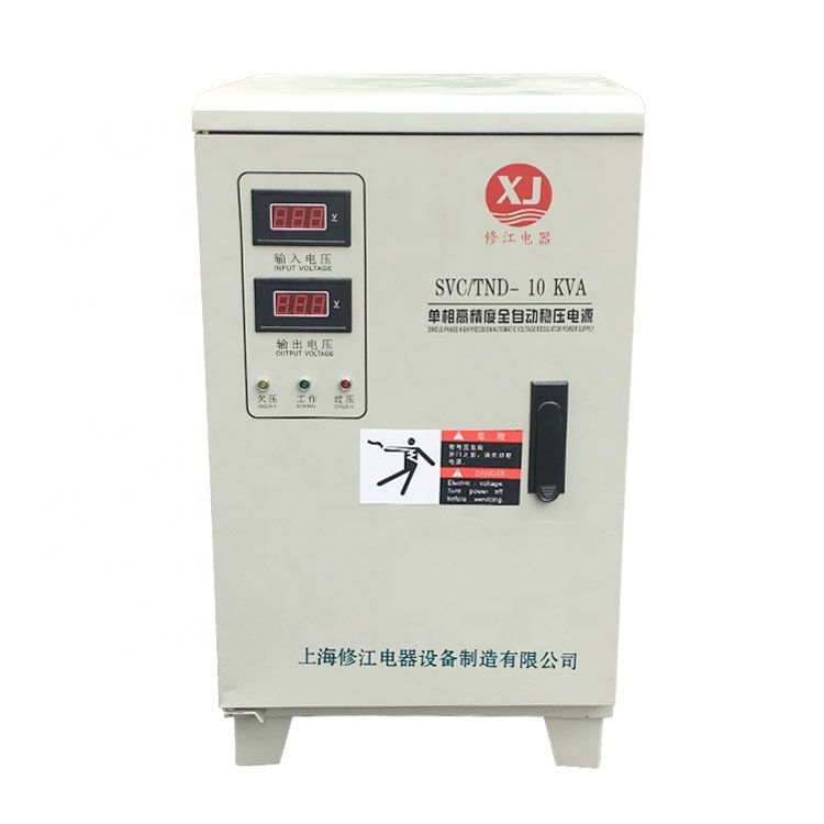 Single Phase 240v 10kva V Guard Voltage Regulator Stabilizer Price For Water Pump Voltage Regulator Stability Regulators