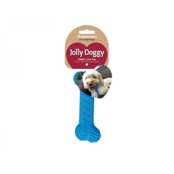 Details About Chillax Cooling Teething Bone Dog Puppy Frozen Toy