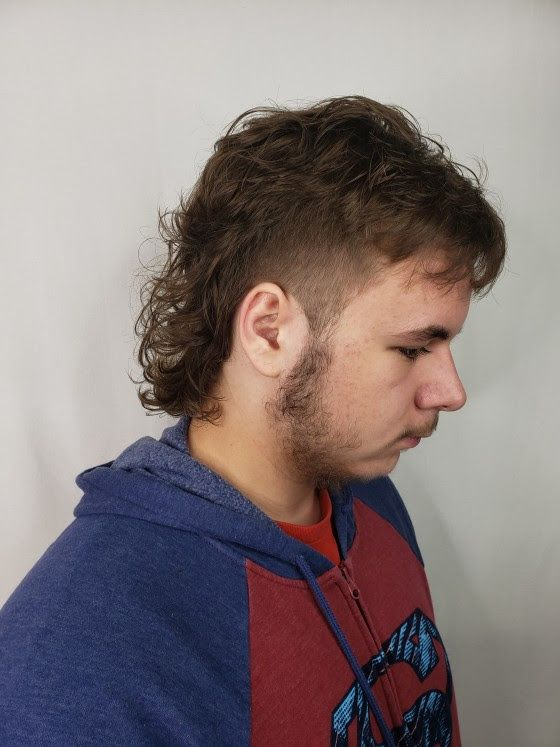 Mullets are coming back and skip is rocking his. Hair by ...