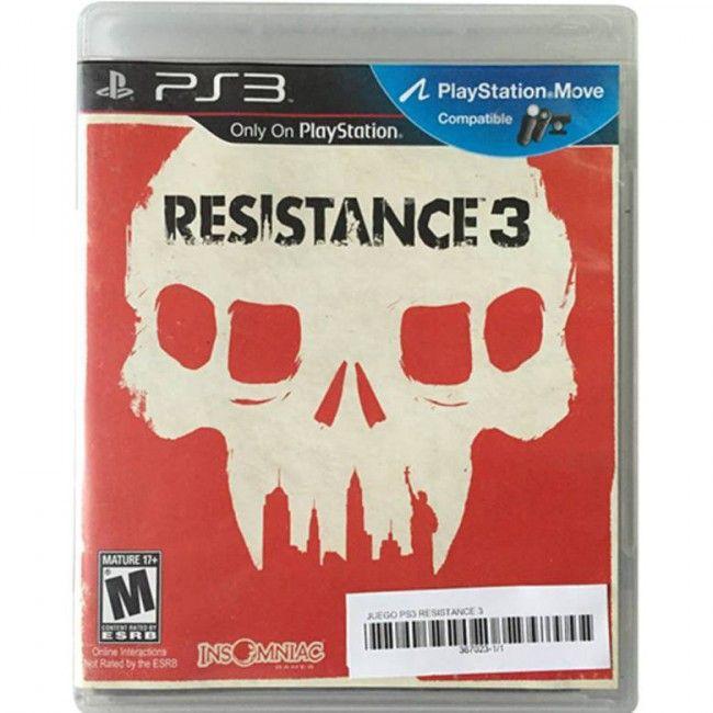 Juego PS3 Resistance 3 - Juegos de Consola - TV, Consolas y Juegos - Tecnología - Sensacional