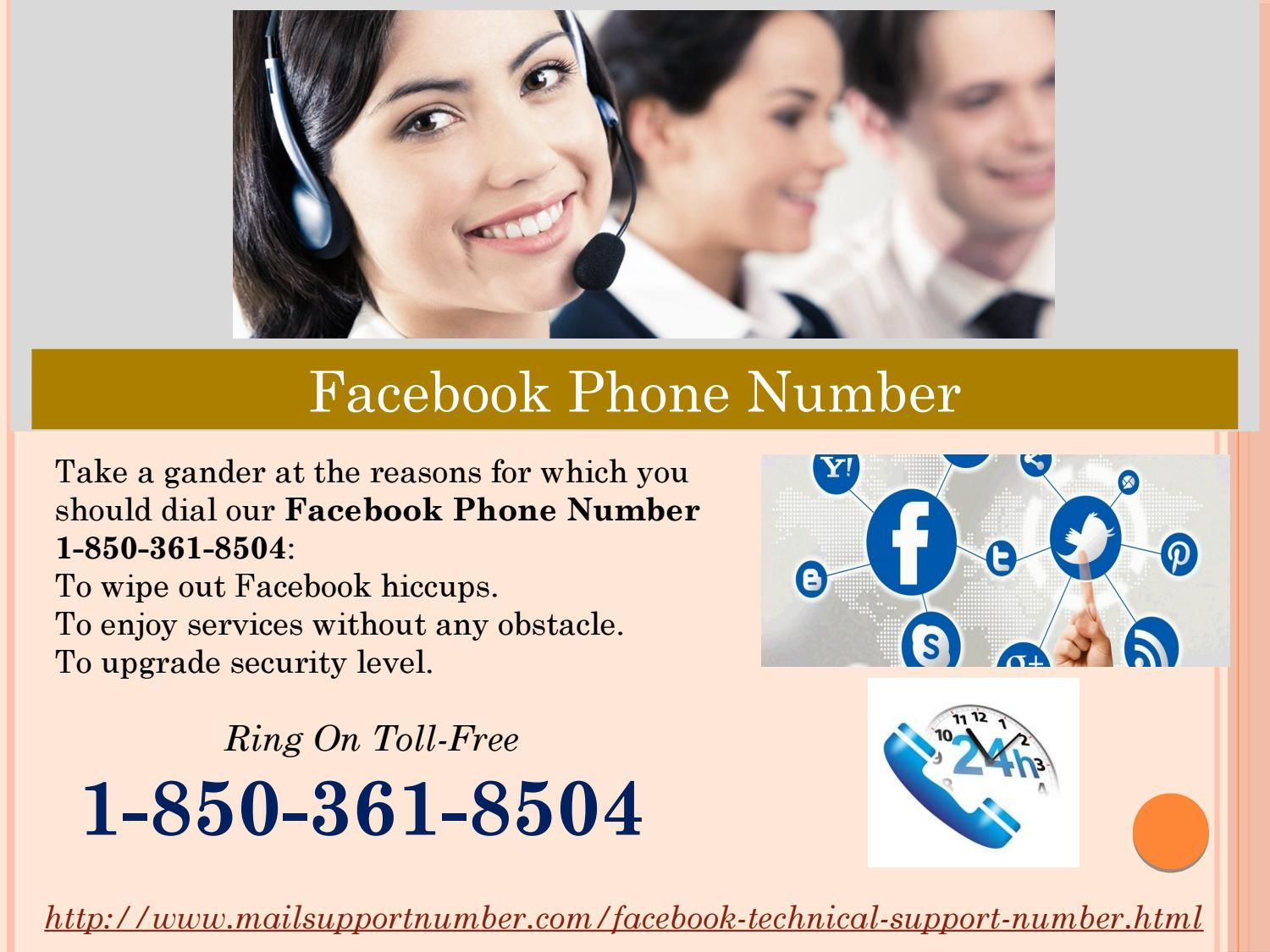 Dial Facebook Phone Number for enable 2 step verification factor 1-850-361-8504? Do you want to enable 2 step verification factors to secure your Facebook account? Don't you have any idea to do so? If yes, make a phone call on our toll-free Facebook Phone Number 1-850-361-8504 and stay united with us. We shall help you out for the same purpose in an effective manner and you will be able to secure more your Facebook account. For more information…