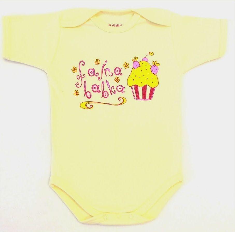 Fajna Babka :D  http://pl.dawanda.com/shop/BoboCiuch #body #dziecko #moda #ubranka #niemowle #babyshower